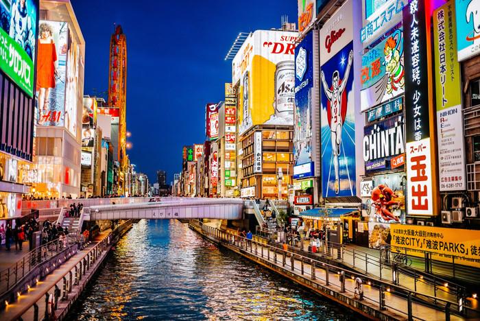 インバウンドが多く集まる大阪心斎橋で人気の飲食店の業種とは?